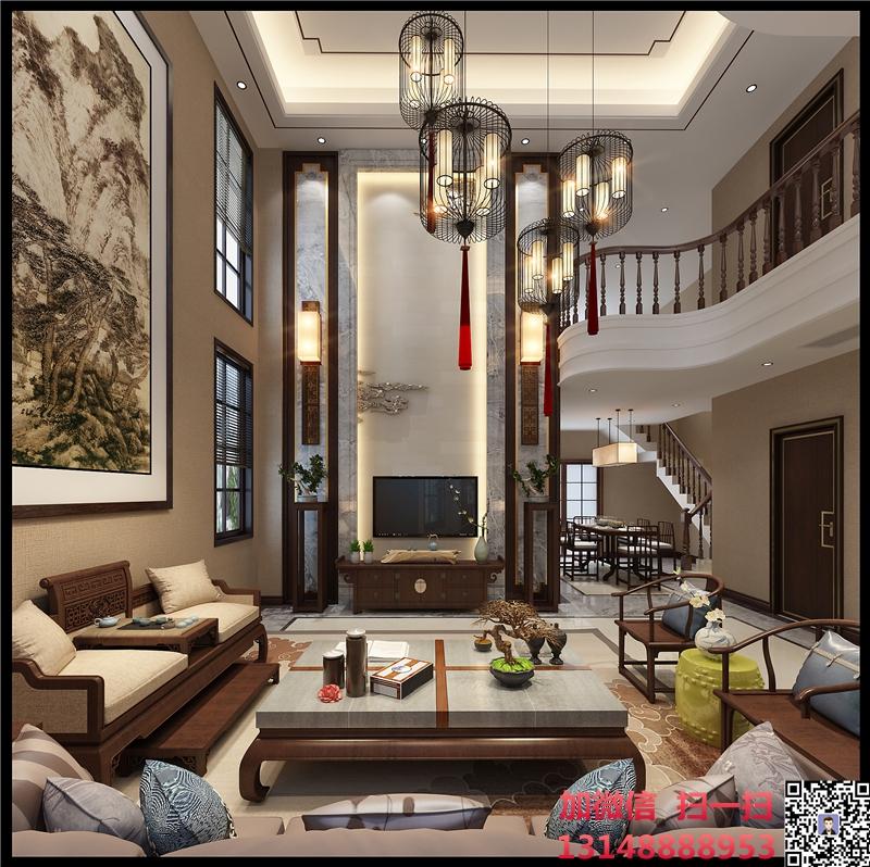 別墅裝修裝飾客廳.jpg
