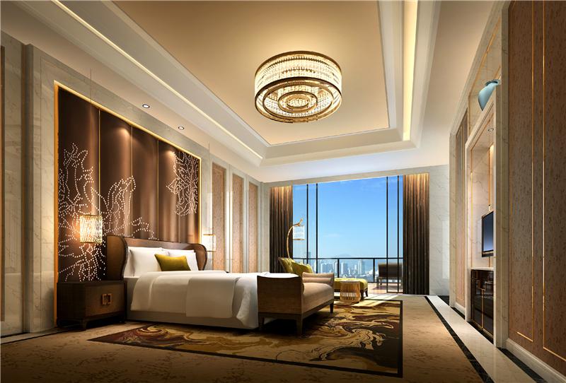 48000平方6层+负2层酒店石材装修