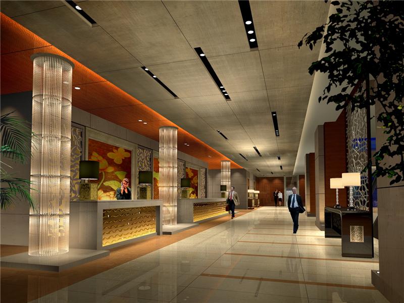23000平米四层酒店石材装修