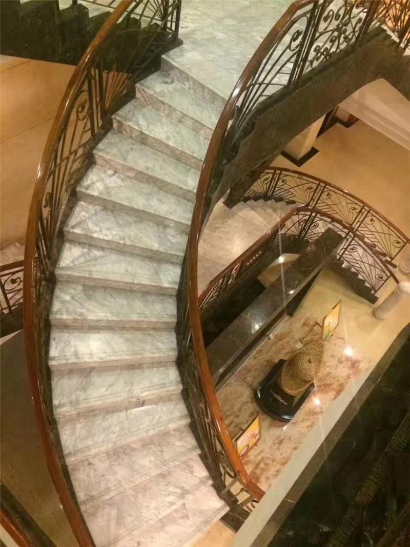高档石材台阶大理石楼梯