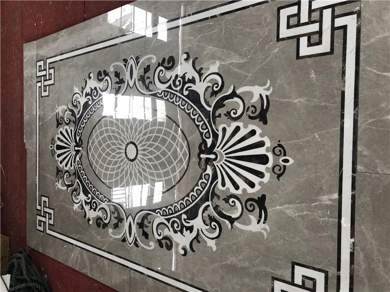 大理石客厅地砖效果图