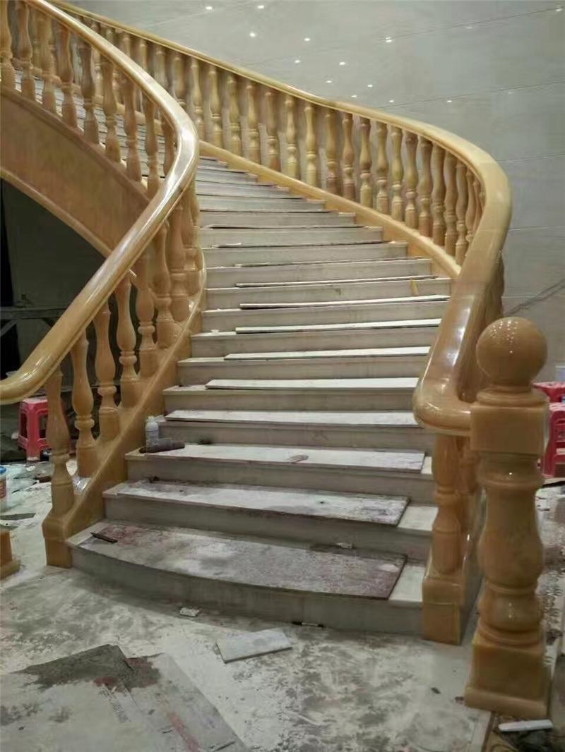 石材楼梯完成效果