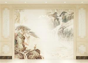 中式护墙板-罗马柱2