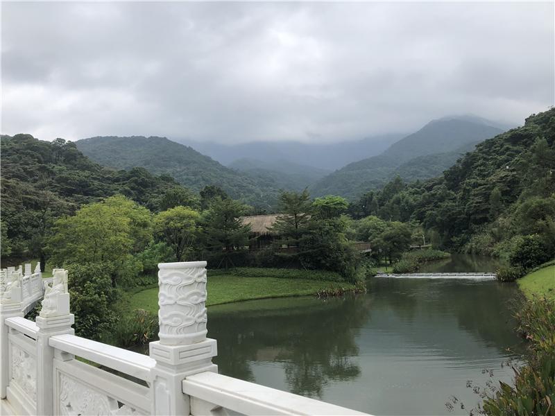 罗浮山入口景观-公园