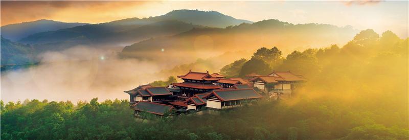 国家五A风景区,岭南人文纪念园,天然水景生态度假区