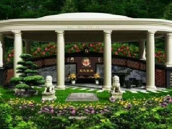 【个性墓】纪念广场